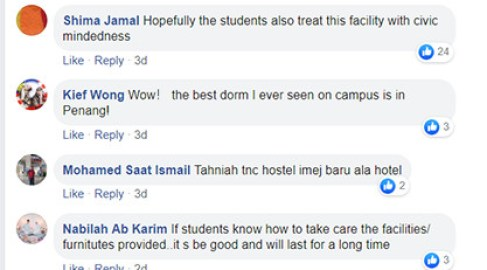 Netizen pesan agar jaga fasiliti yang telah disediakan