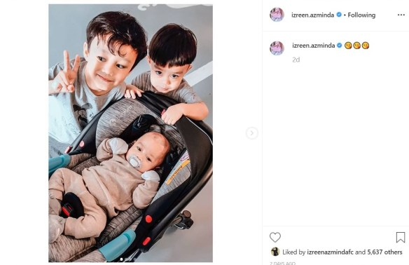 izreen azminda anak-anak tiri