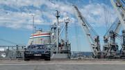 Porsche-Taycan-on-USS-Hornet-6