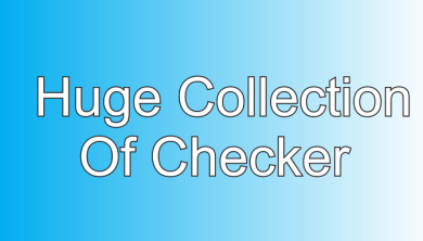 Mega Collection of Checker tools