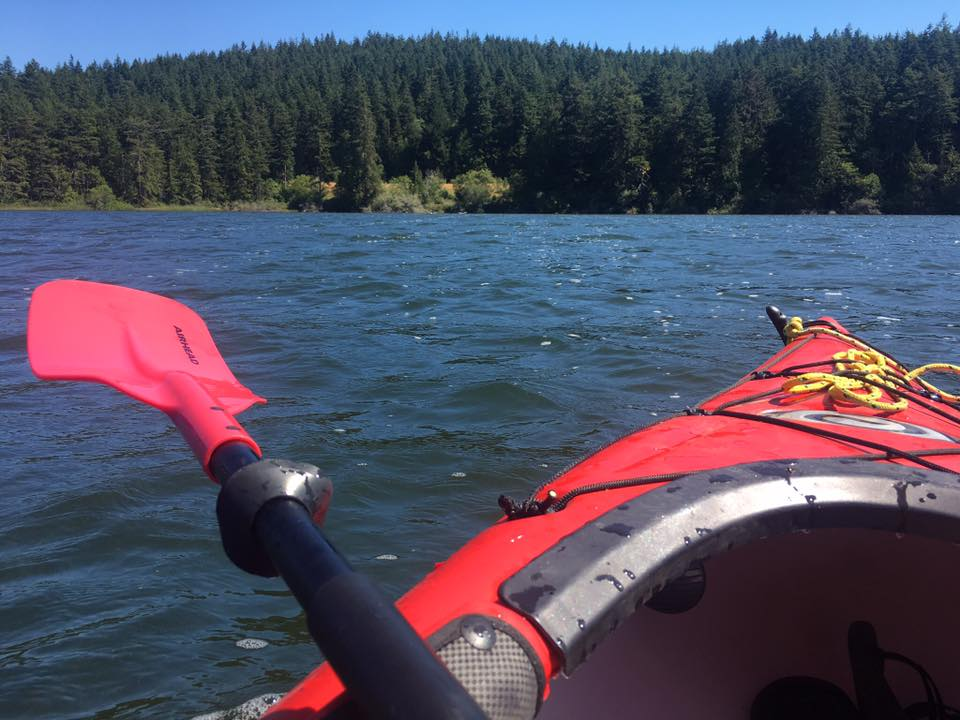 Kayaking on Fidalgo Island