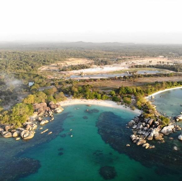 Pantai Tanjung Kelayang bersempena nama burung