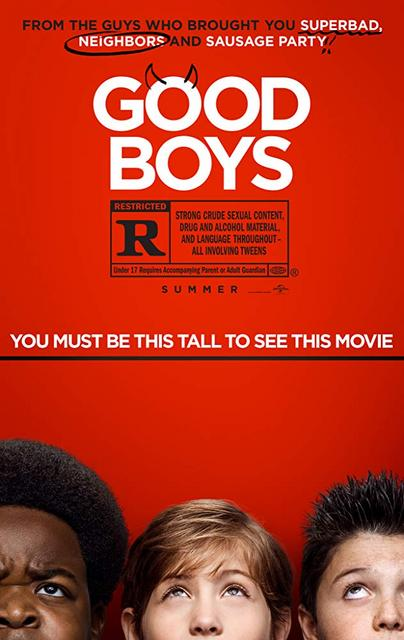 Good Boys 2019 Movie Poster