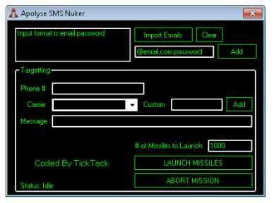 Apolyse SMS Nuker