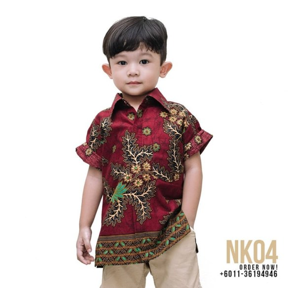 batik slim fit timor apparels