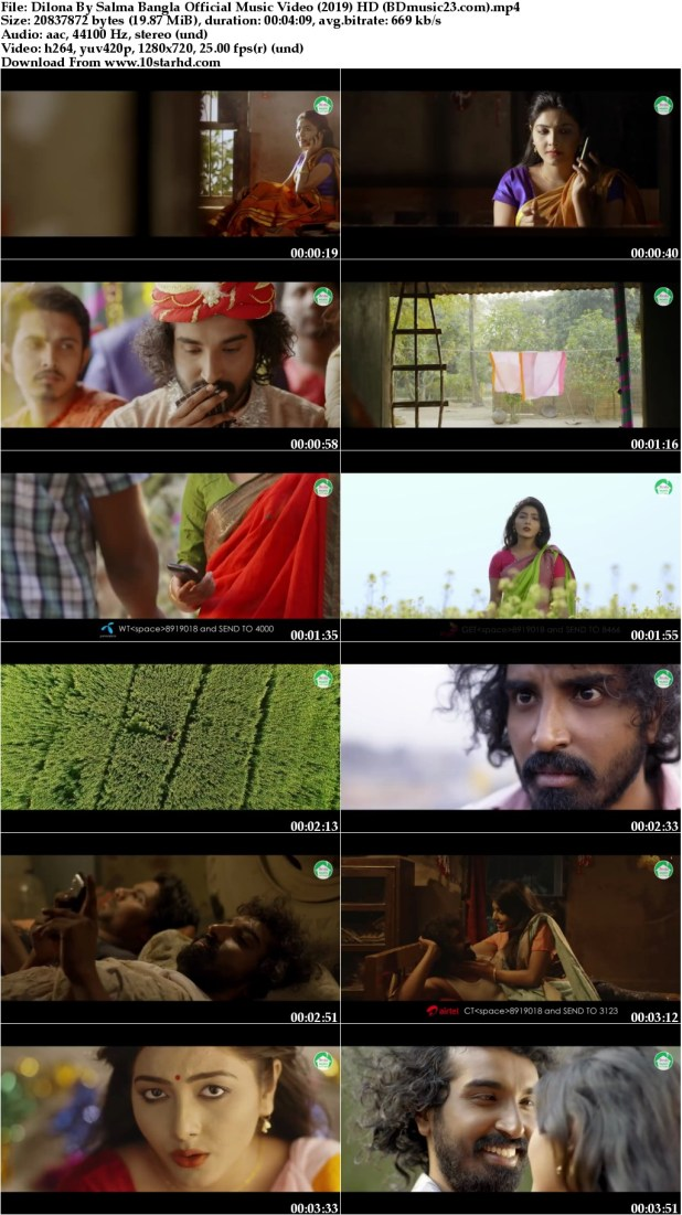 Dilona By Salma Bangla Official Music Video (2019) HD