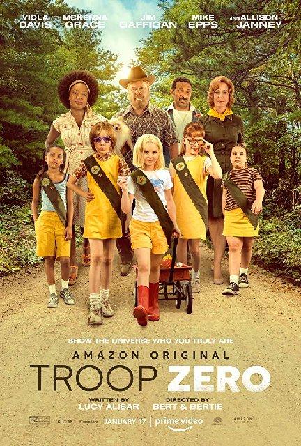 Troop Zero 2019 Movie Poster