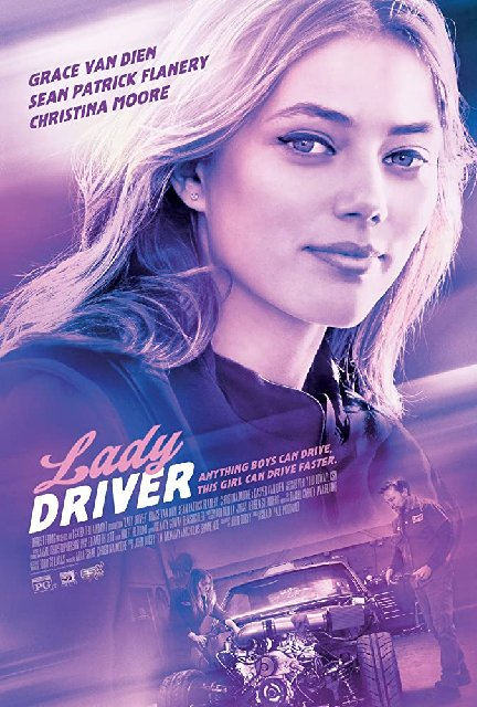 Lady Driver 2020 Movie Poster