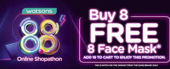 buy 8 free 8 online shopathon