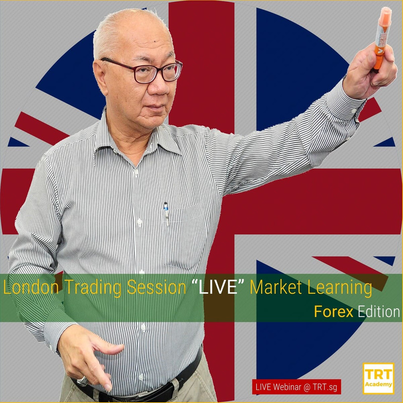 "14 July 2020 – [LIVE Webinar @ TRT.sg]  London Trading Session ""LIVE"" Market Learning – Forex Edition"