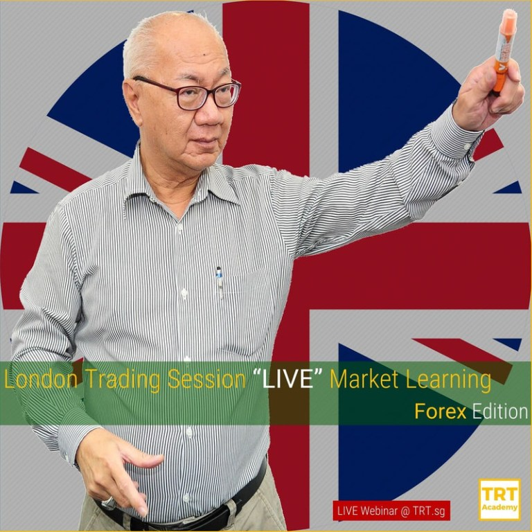 "14 July 2020 – [LIVE Webinar @ TRT.sg]  London Trading Session ""LIVE"" Market Learning – Forex Edition"