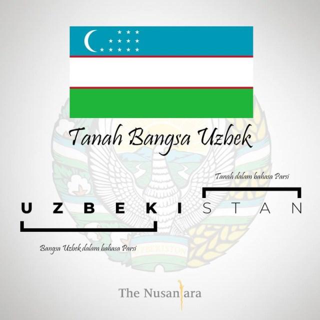 bangsa Uzbek dalam bahasa parsi
