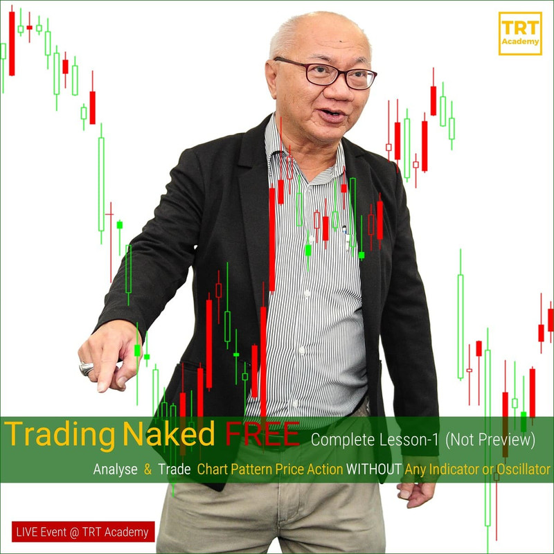 [LIVE Event @ TRT Academy]  Trading Naked FREE Complete Lesson-1 (Not Preview) – 02-20