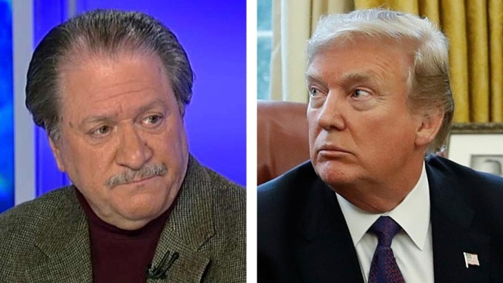 diGenoca and the President Donald Trump