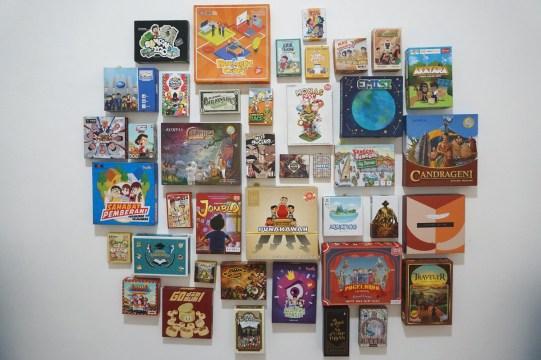 Pameran Board game Indonesia