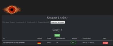 Sauron Locker – android locker (Ransomware) + src+ Tutorial