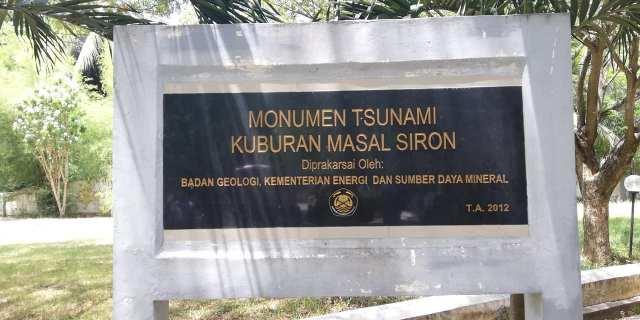 monumen perkuburan tsunami