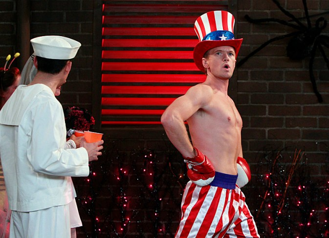 Neil Patrick in the series How I Met Your Mother