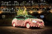 Nissan-Leaf-Christmas-tree-1