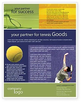 Tennis Flyer Template Background In Microsoft Word Publisher And Illustrator Formats 01697