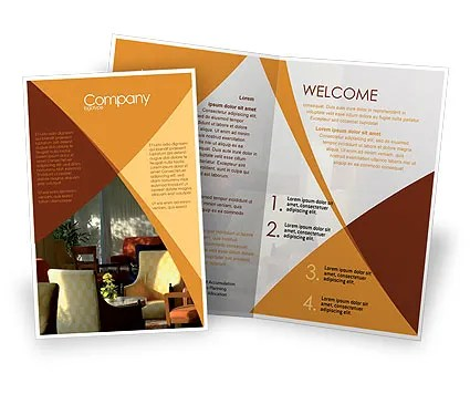 Hotel Restaurant Brochure Template Design and Layout  Download Now     Hotel Restaurant Brochure Template  05392  Careers Industry      PoweredTemplate com