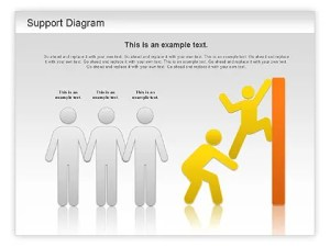 Support Diagram for PowerPoint Presentations, Download Now