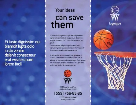 Basketball Match Brochure Template Design And Layout Download Now 01816