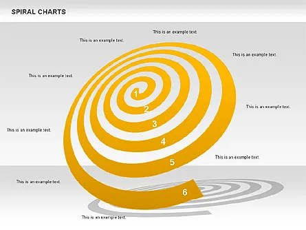 Spiral Chart - Presentation Template for Google Slides and PowerPoint   #00848