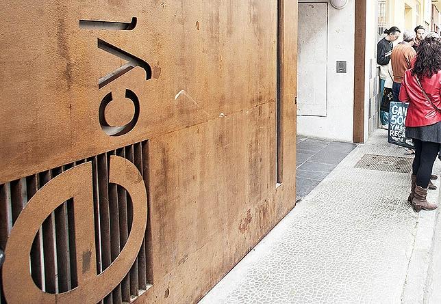 Imagen de la sede del Ecyl en la calle Las Monjas. DP