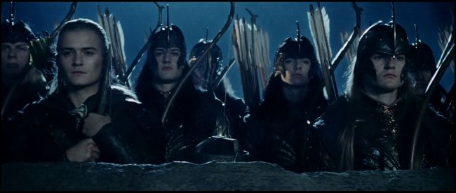 Legolas and Gimli at Helms Deep