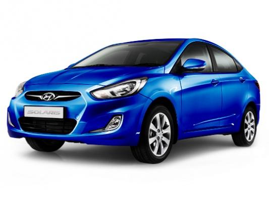 Цвета Hyundai Solaris sedan - актуальная палитра Хендай ...