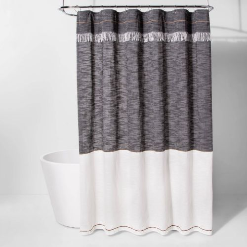 new project 62 fabric shower curtain