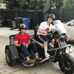 My Son With Cerebral Palsy Now Grown And His Own Sidecar Bike Honda Ruckus 250 Automatic With Custom Sidecar No We Don T Ride With No Gear Just Needed A Picture Motorcycles