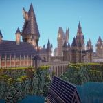I Spent About 40 Hours Building Hogwarts Minecraft