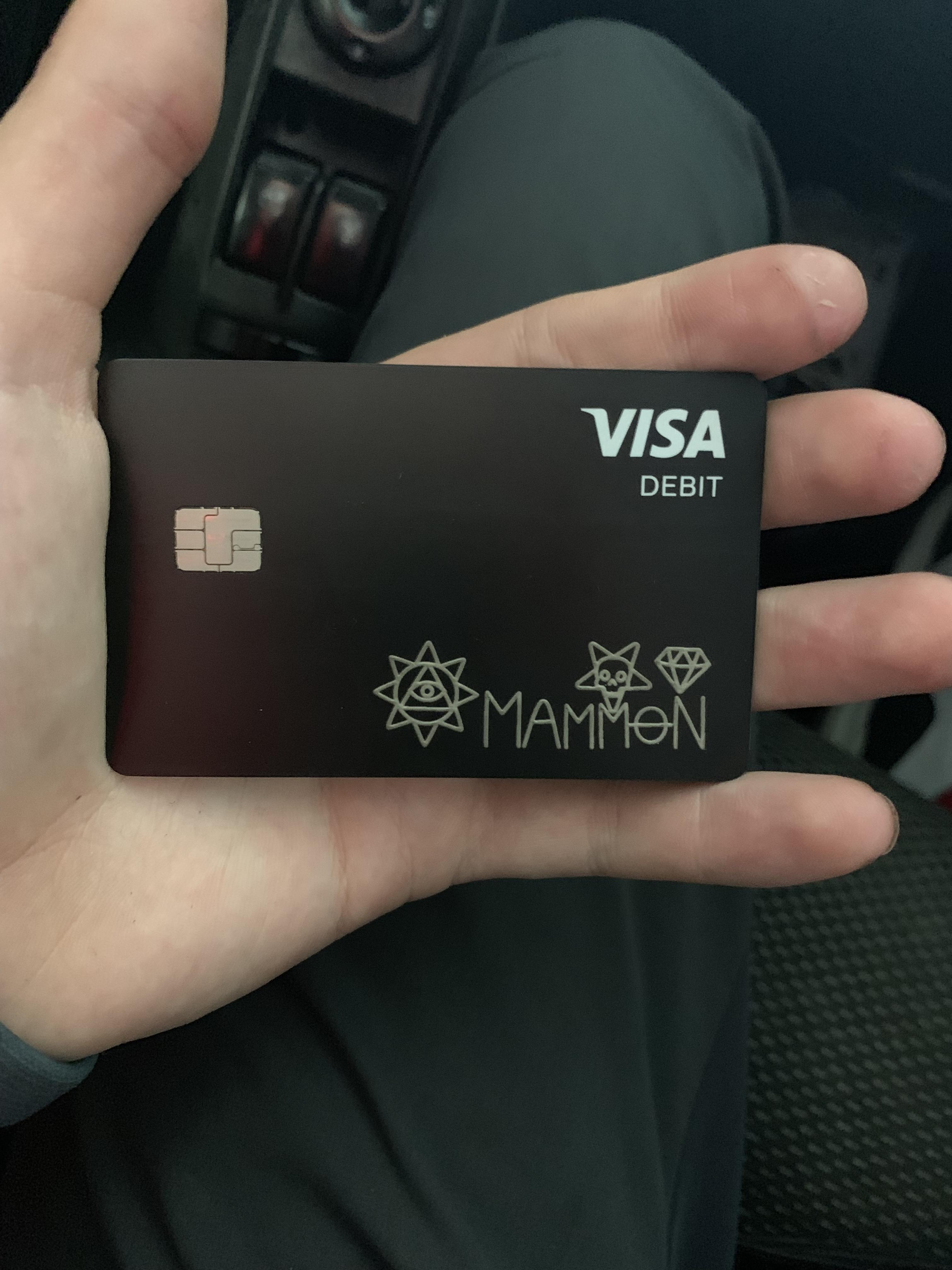 You can make someone's day even better with a card you create just for them. Cash App Card Mammon Is Not The Key To Prosperity Even Have 666 In The Card Number And I Didn T Pick It Money Is Funny Like That Satanism