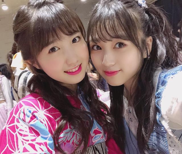Snsizone Honda Hitomi And Yabuki Nako At The Janken Tournament