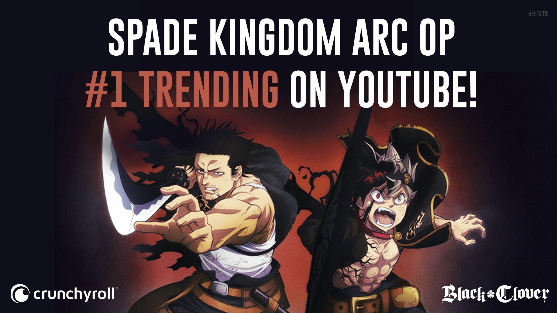 1 trending on youtube blackclover