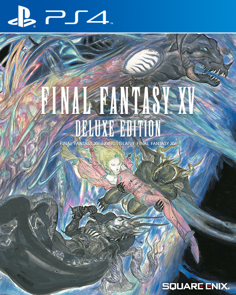 Speaking Of Box Art I M Only Getting The Deluxe Version Because Of How Much Better The Cover Looks Ffxv