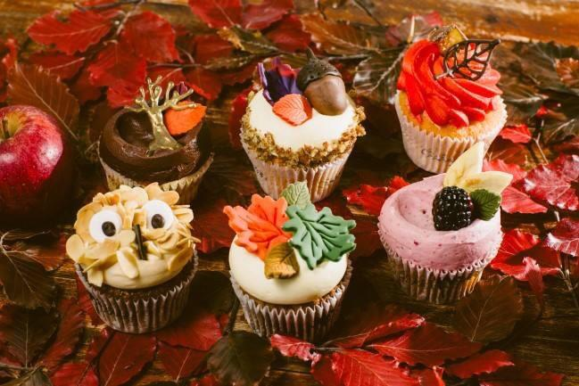 These Autumn Cupcakes From A Local Bakery Near Me! : Baking