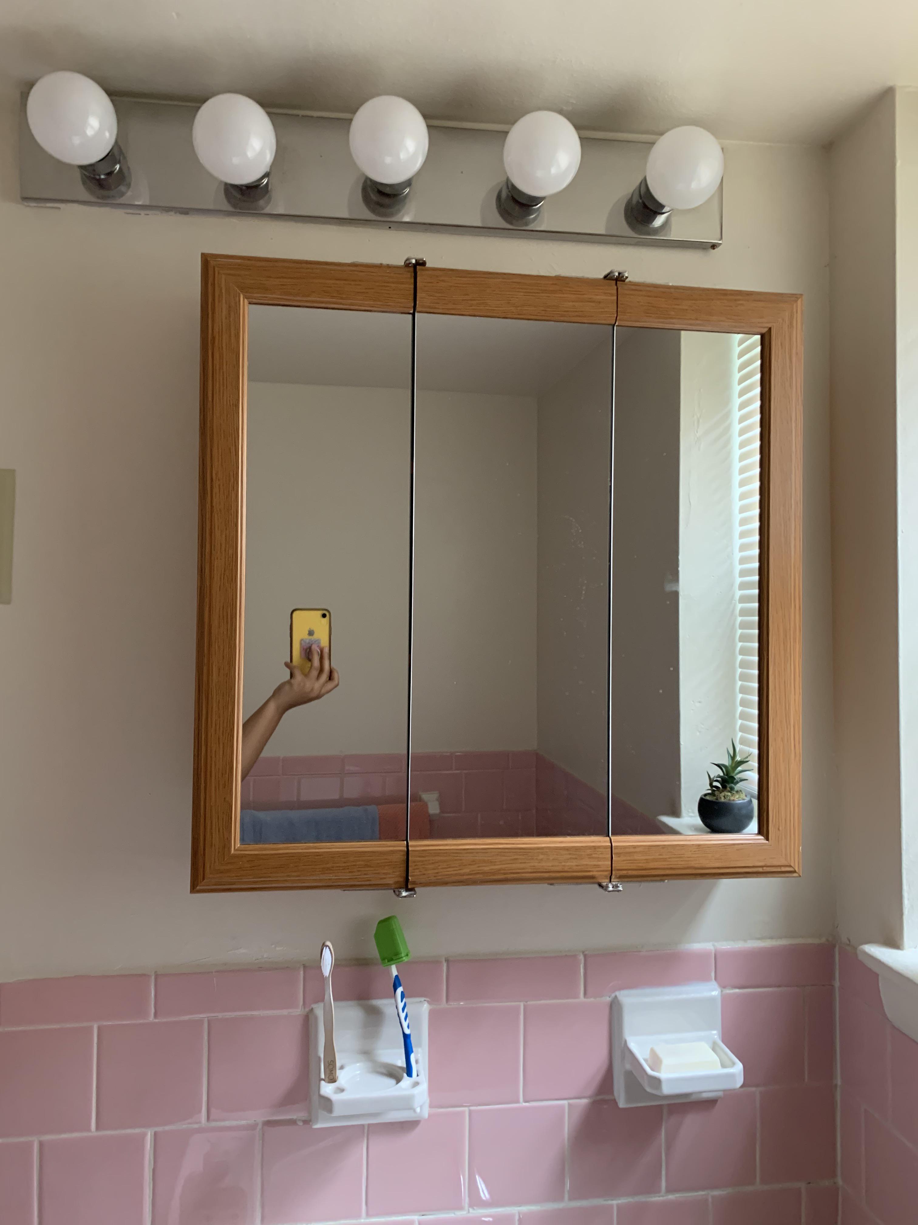 bathroom lights line