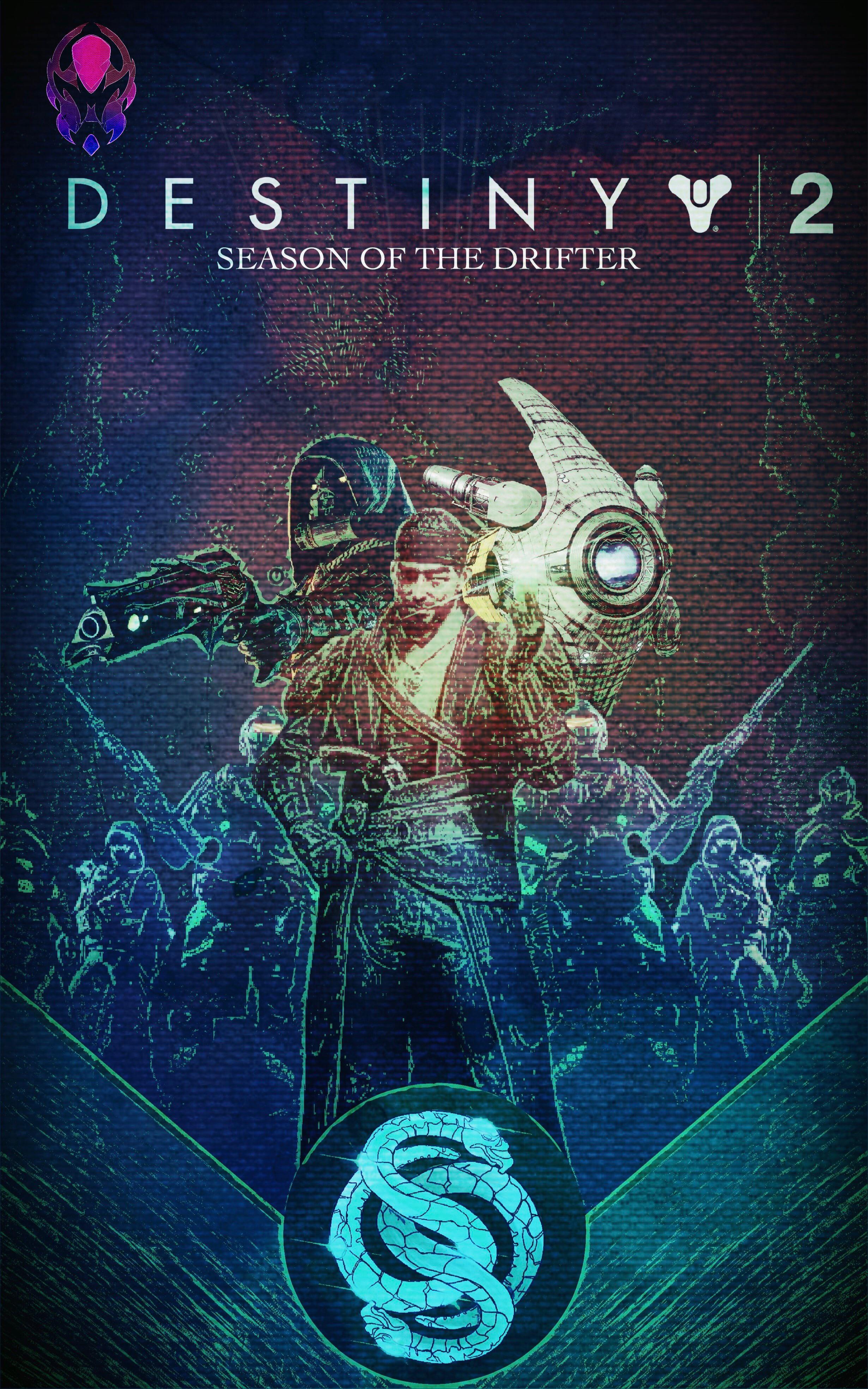 season of the drifter fan art poster