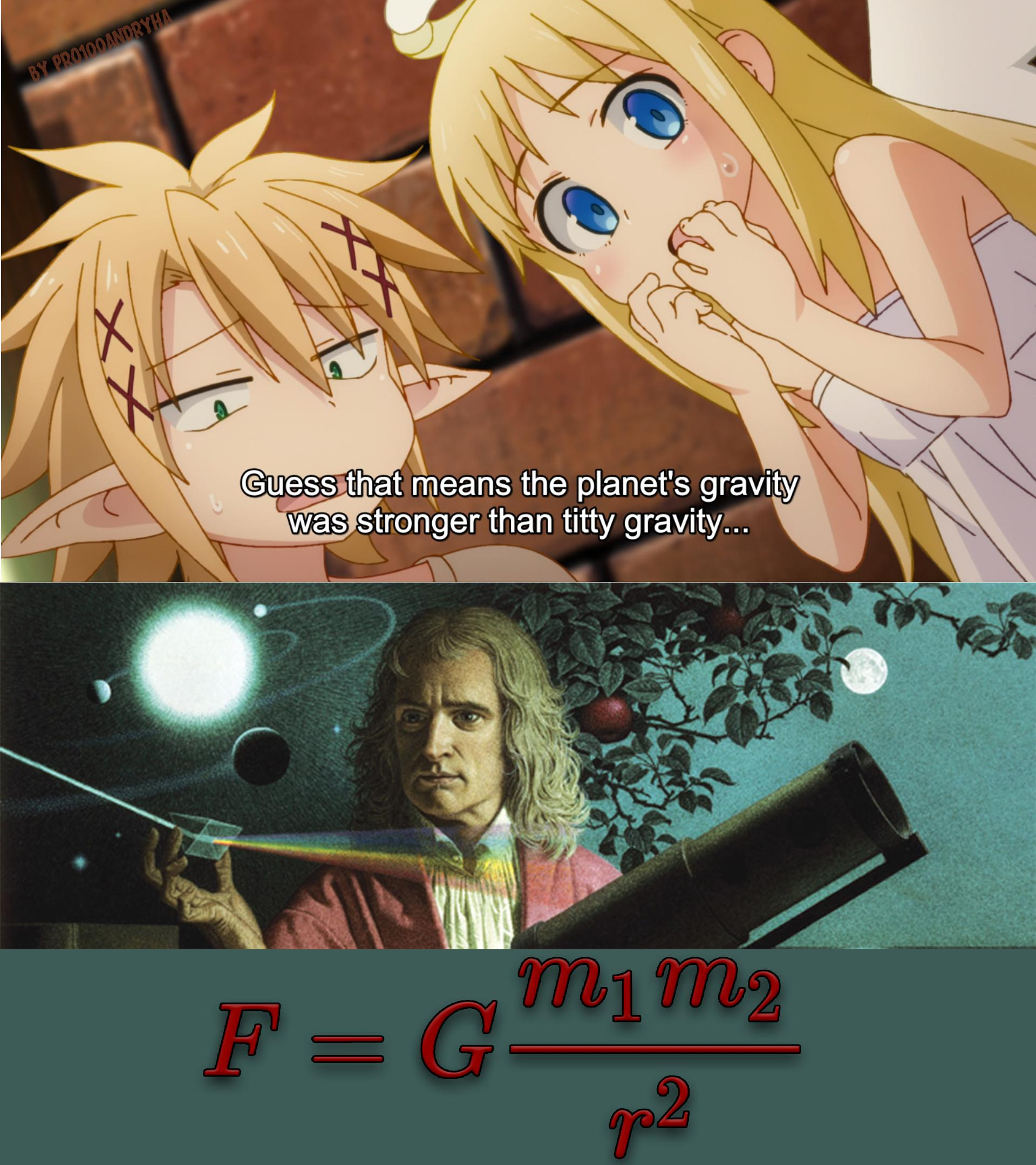 Newton Discovered The Law Of Universal Gravitation