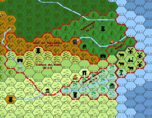 I am preparing a West Marches style campaign and made this map  Any      i redd it