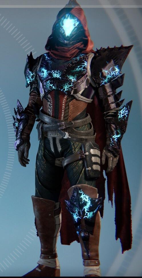 Fully Ornamented Hunter Kings Fall Gear No Shader