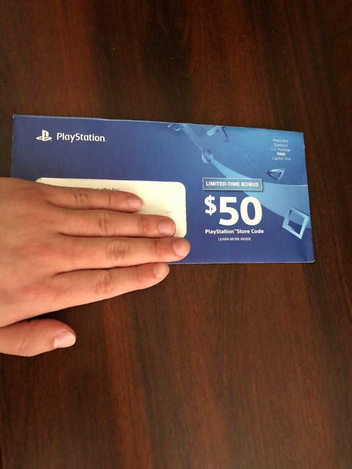 capital one playstation credit card | Gemescool org