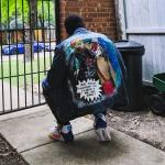 Art First Post Here Harley Quinn And Red Hood Inspired Design I Painted On This Denim Jacket I Also Have 4 Other Jackets And Vest That I Ve Painted Too Also The Shoes