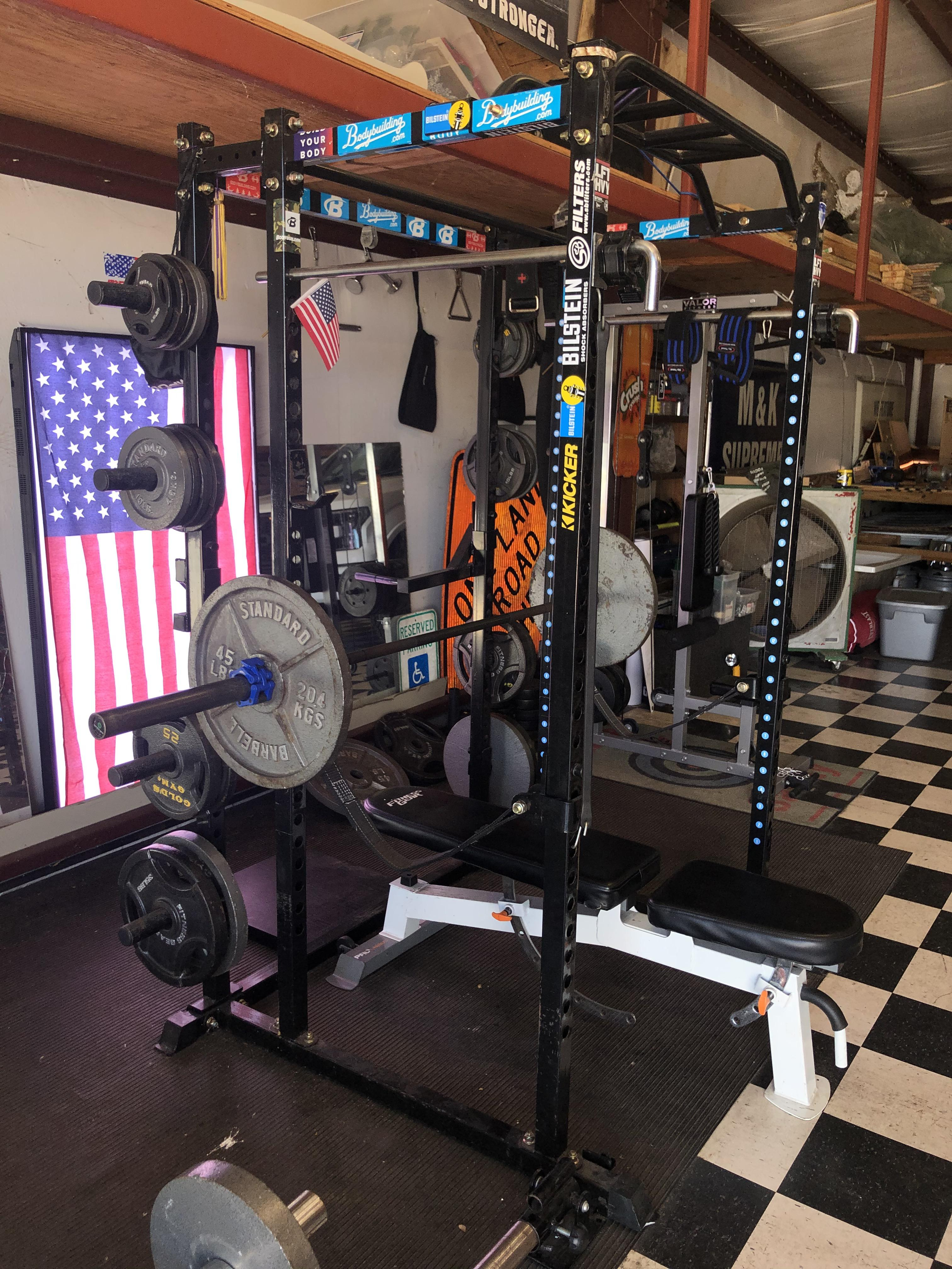 started life as a basic titan t 2 homegym