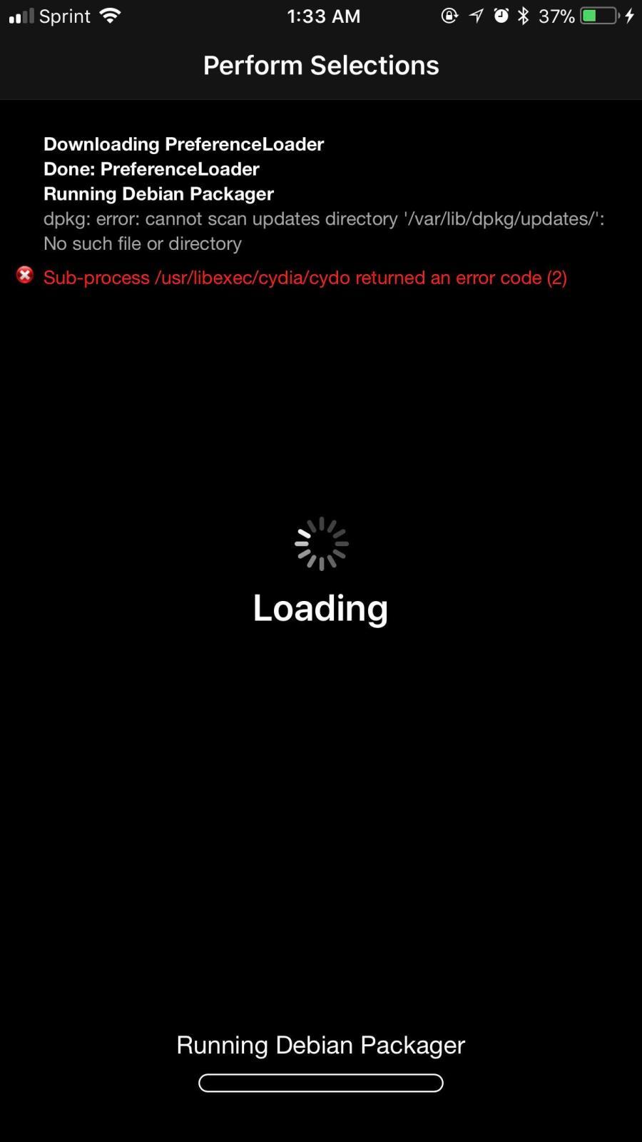 Tip If Youre Getting This Error Varlibdpkgupdates