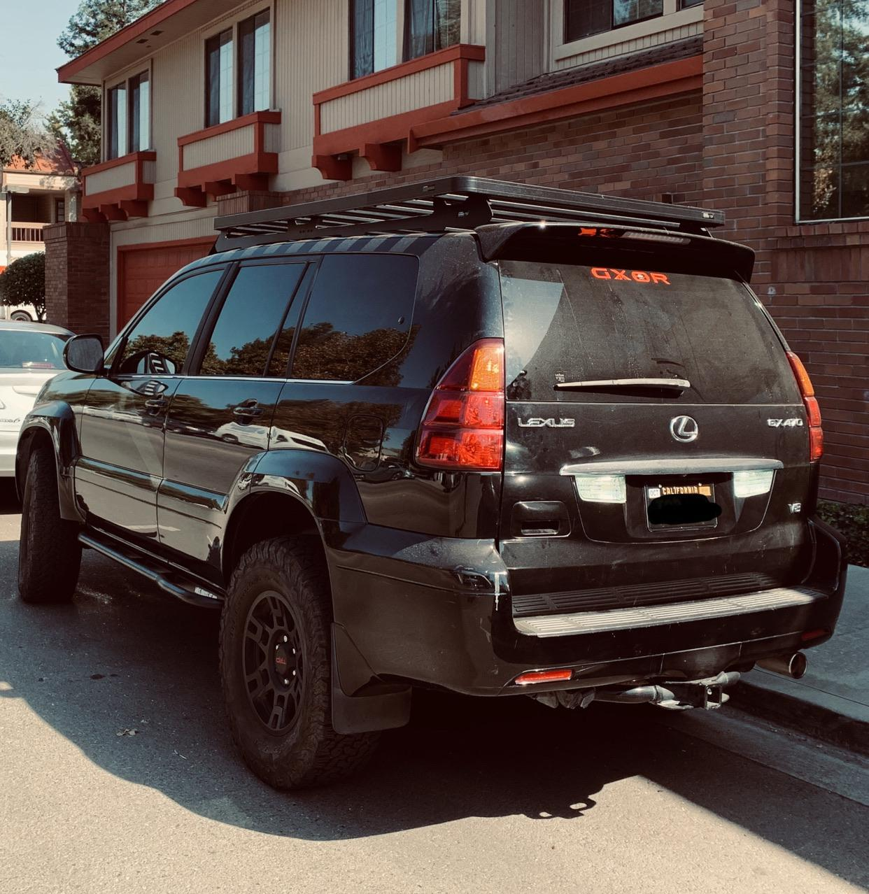 gx470 with a gxor decal spotted in the