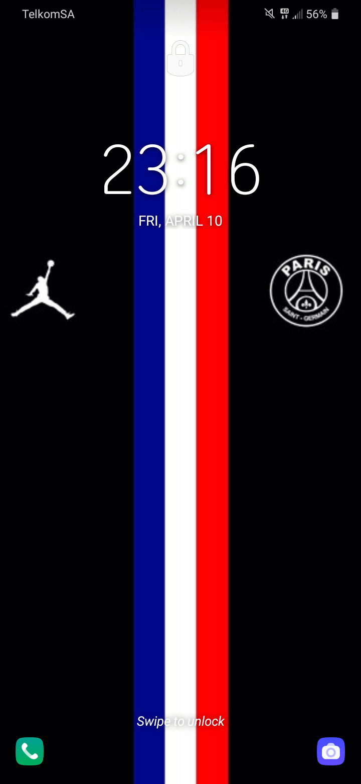 my screen wallpaper psg